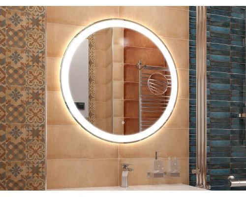 Зеркало в ванную с подсветкой с увеличением Джулия